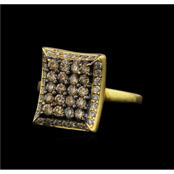 1.00 ctw Diamond Ring - 14KT Yellow Gold