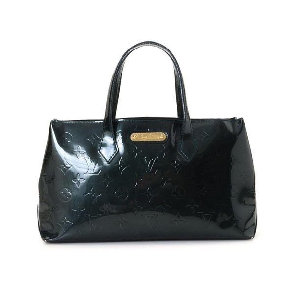 Louis Vuitton Nuit Monogram Wilshire PM Shoulder Bag