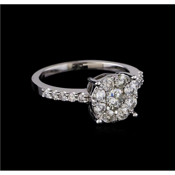 1.08 ctw Diamond Ring - 14KT White Gold