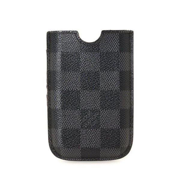Louis Vuitton Black Graphite Canvas iPhone Case (3G)