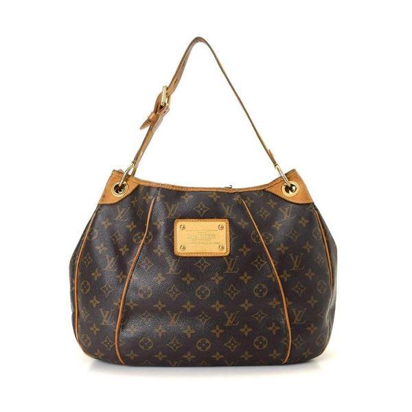 Louis Vuitton Brown Monogram Galliera PM Handbag