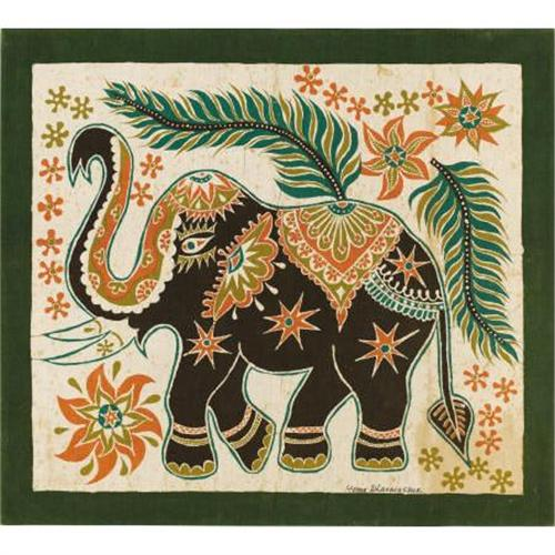 best loved 6cd6a d5930 A Group of Four Sri Lankan Batik