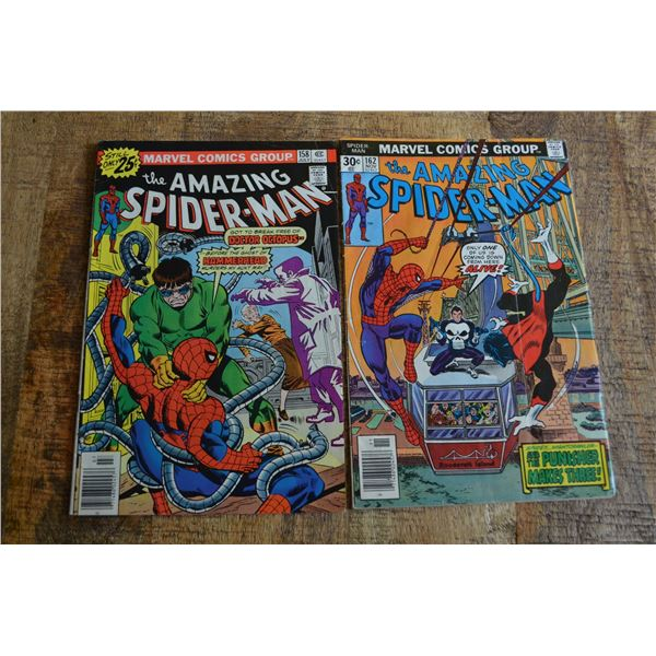 Amazing Spiderman 158, 162 Comics