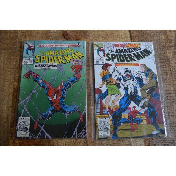 Amazing Spiderman 373 374