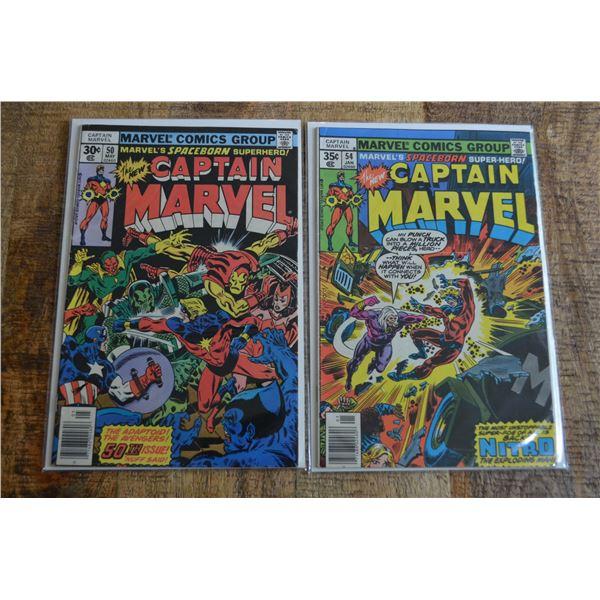 Captain Marvel 50 54
