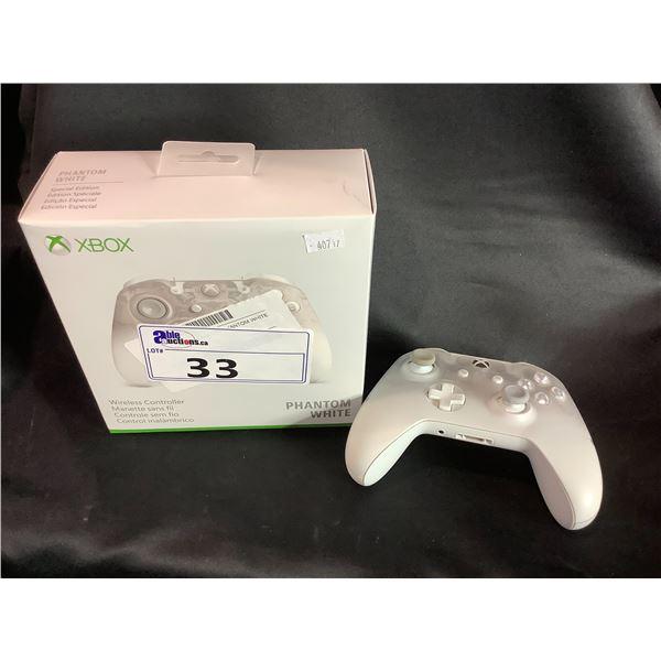 XBOX PHANTOM WHITE WIRELESS CONTROLLER