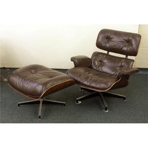 Terrific Herman Miller Eames Lounge Ottoman Vintage 1976 Gamerscity Chair Design For Home Gamerscityorg