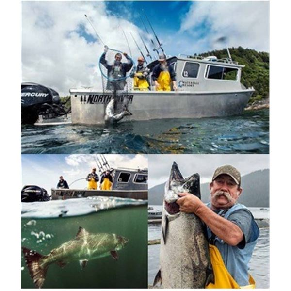 Saltwater Fishing and Lodging for Two in Alaska