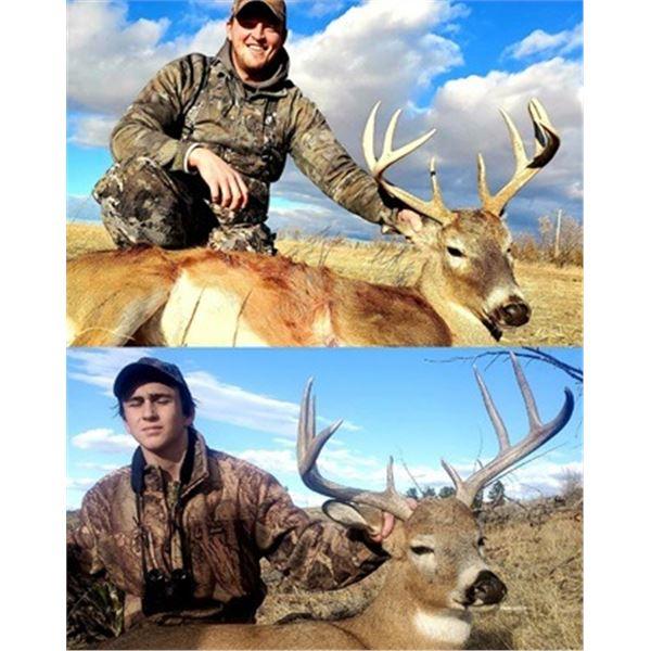 Whitetail Deer Hunt in Nebraska