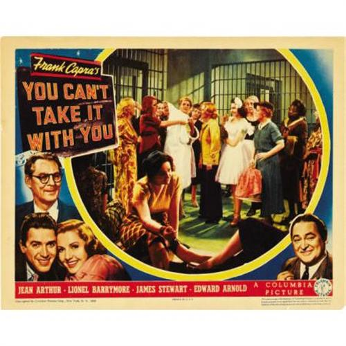 You can/'t take it with you James Stewart movie poster