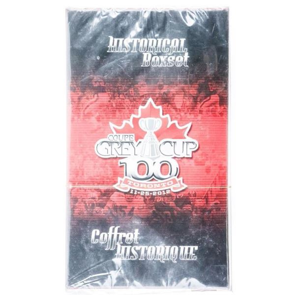 Grey Cup 100 Toronto 11-25-2012 Historical  Box Set 'SEALED'