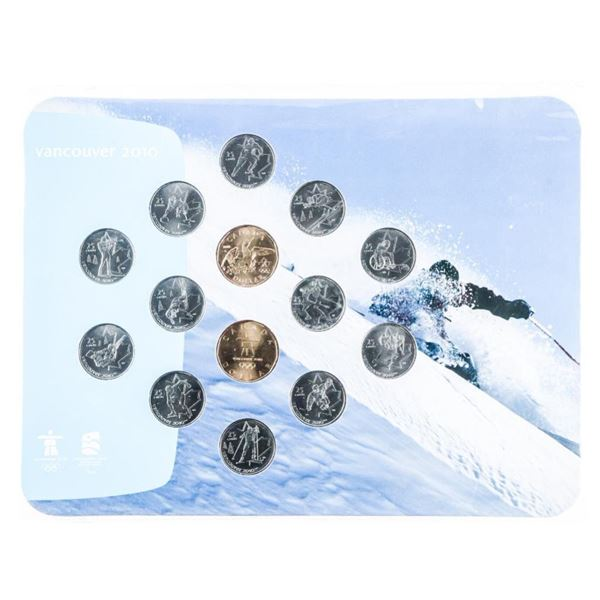 Vancouver 2010 Olympics Winter Games Coin  Collection