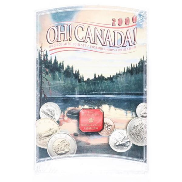 OH CANADA 2000 UNC COIN Set