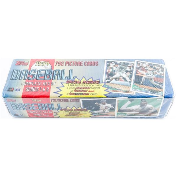 Topps 1994 792 Picture Cards 'Baseball'  Complete