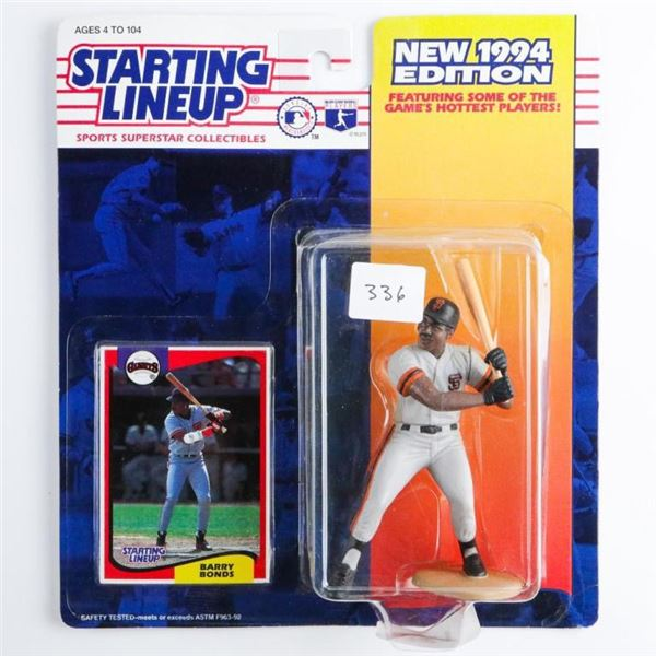 Starting Line Up 1994 Edition Barry Bonds  with Card