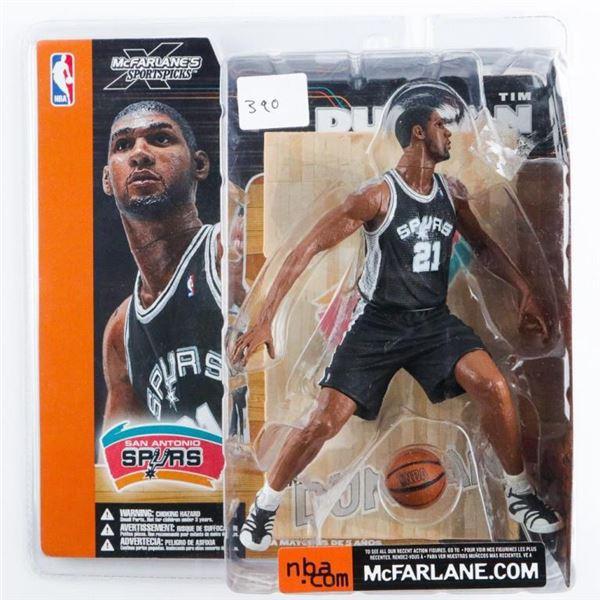 McFarlane - SportsPicks 'Tim Duncan' 'Spurs'