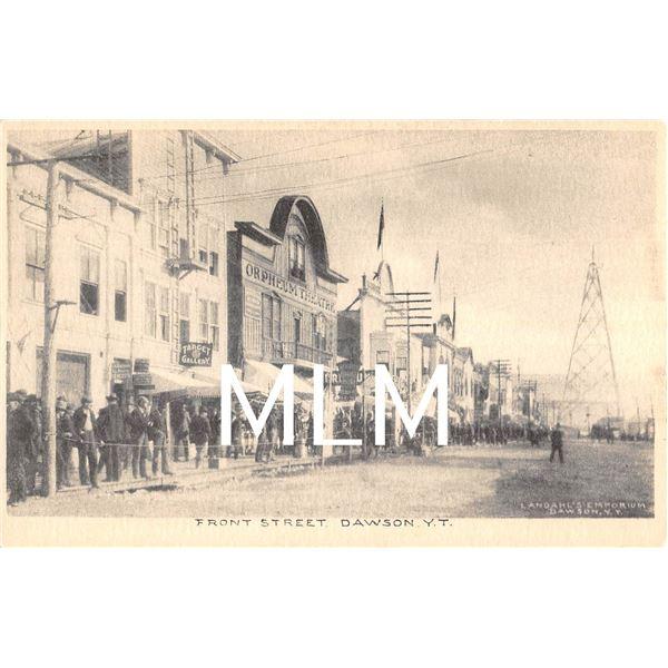 Shooting Gallery & Theatre Front Street Dawson, Yukon Territory Postcard