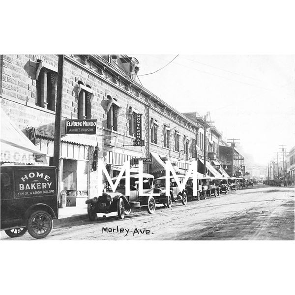 Morley Ave. Bakery Truck Store Front Nogales, Arizona Photo Postcard