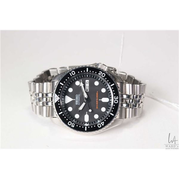 Seiko Automatic 200 meter, 21 jewel Diver's Watch, made in Japan,  model 7S26-002-0, dates 2005-2010