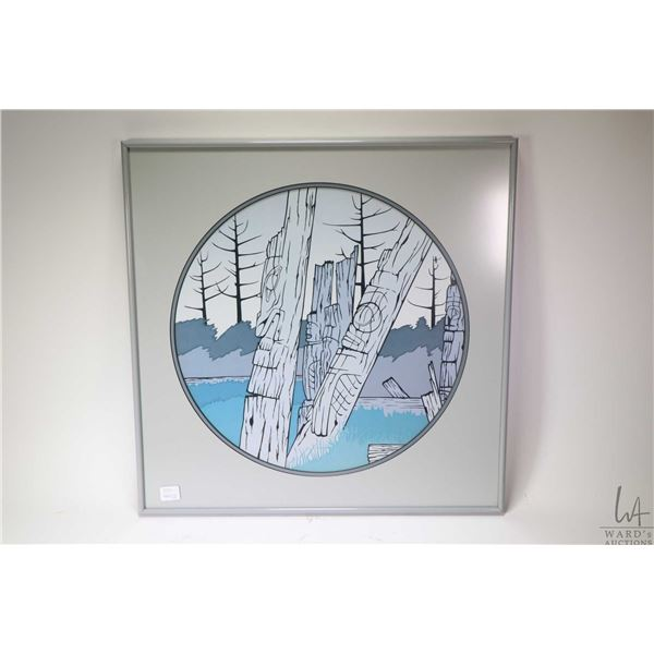 Two framed prints including a limited edition  Trails North  by Dot Bardarson, 118/500 and a open ed