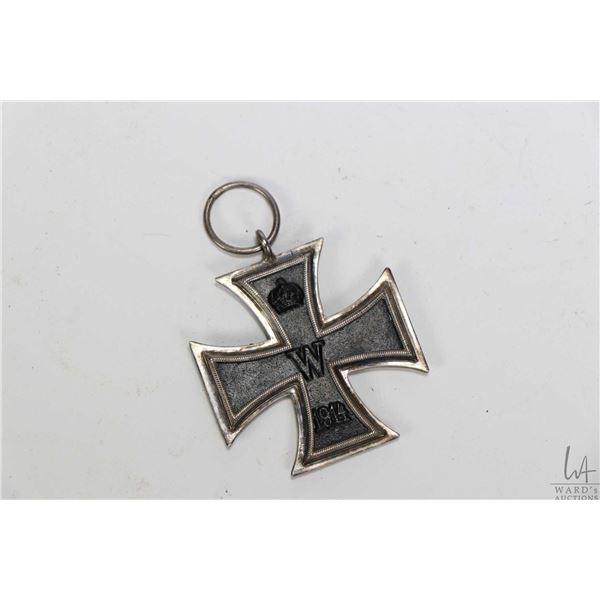 WWI German Iron Cross medallion 2nd class dated 1914