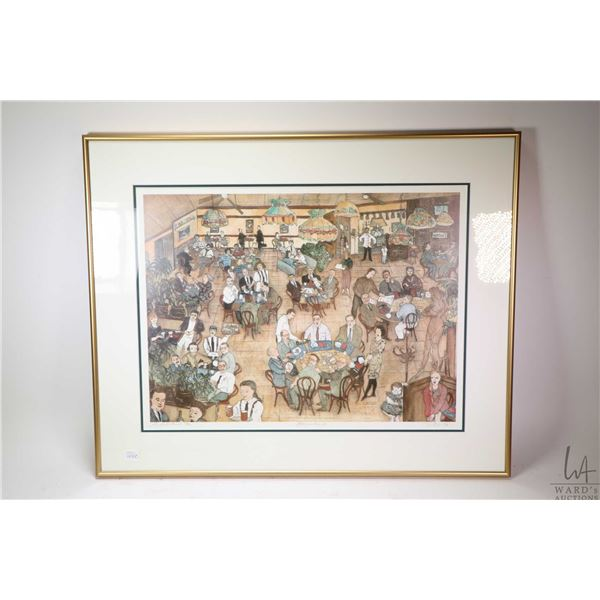 """Limited edition artist proof titled """"Boccalinos"""" pencil signed by artist Toti, 38/50. Not Available"""