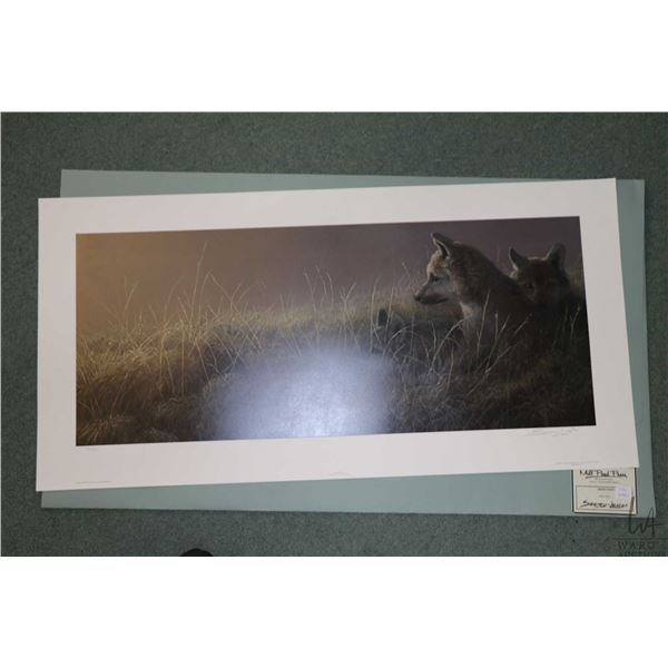 """Unframed print """"Abandoned"""" pencil signed by artist Seerey Lester 430/950. Not Available For Shipping"""