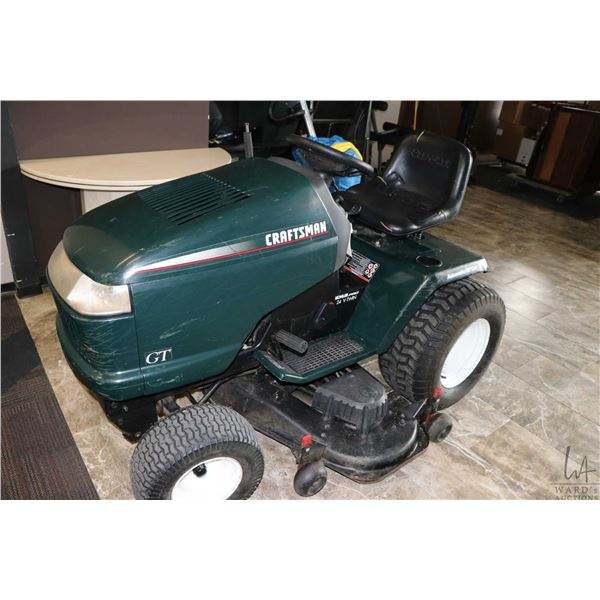 Craftsman GT automatic riding mower, with 50  cut, Kohler Pro 24 HP V- twin. Showing 814 hrs. New ba