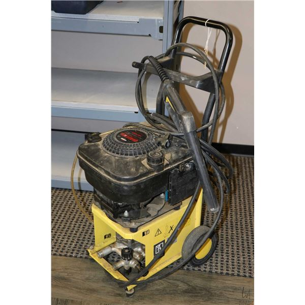 BE Powerwash 3500 psi 4.75 HP pressure washer, working at time of cataloguing and Quantum Power 4 HP