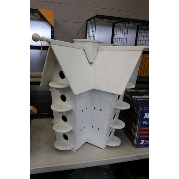 Large purple martin bird house. Not Available For Shipping. Local Pickup Only