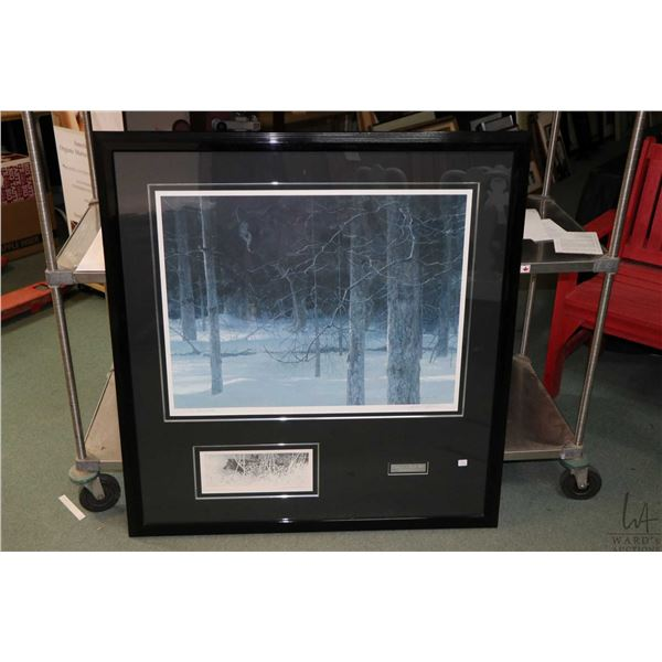 """Premier edition """"Midnight- White Wolf"""" pencil signed by artist Robert Bateman, 775/950. Not Availabl"""