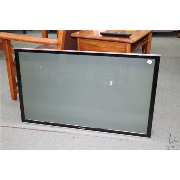 Panasonic Plasma television model TC-P42S60 with remote control, but no stand