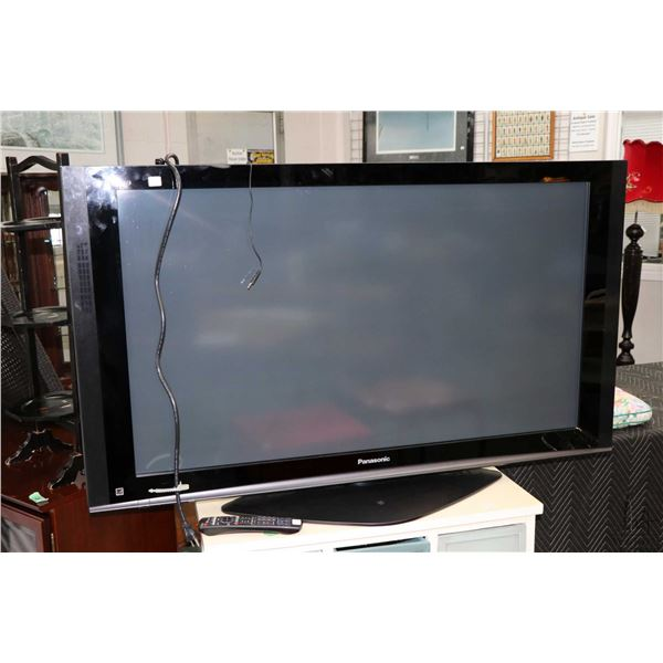 Panasonic high definition plasma television model TH-50PX77U with manual and remote