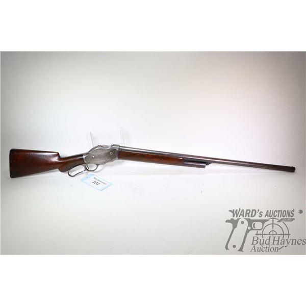 "Non-Restricted shotgun Winchester model 1887, 12Ga lever action, w/ bbl length 30"" [Blued barrel and"