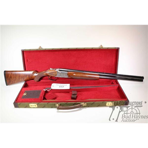 "Non-Restricted shotgun Winchester model Custom Ducks Unlimted Lim, 12Ga 2 3/4"", 3"" two shot hinge br"
