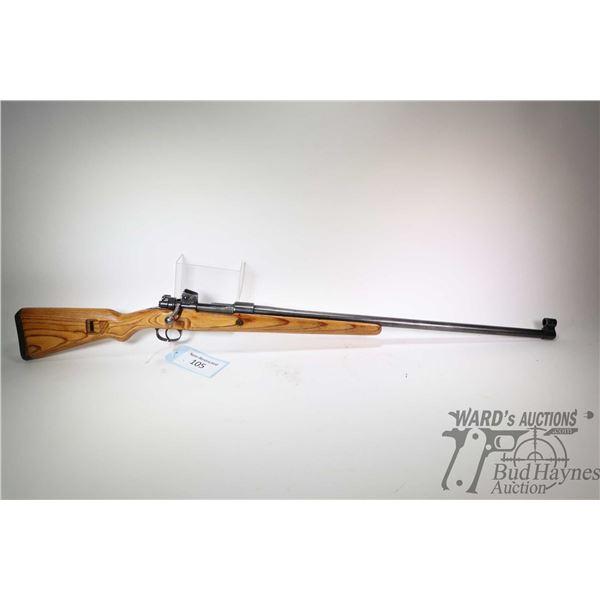 "Non-Restricted rifle Gevaerfabriken model Mod. 98, 6.5X55 bolt action, w/ bbl length 28"" [Blued barr"