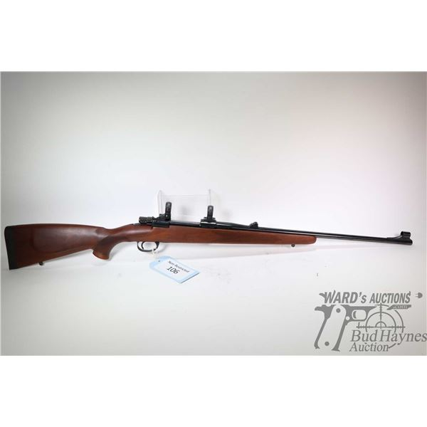"Non-Restricted rifle Zastava model LKM70, 6.5 X 55 SE bolt action, w/ bbl length 22 1/2"" [Blued barr"