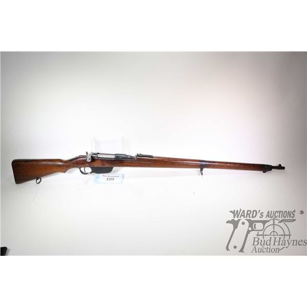 Non-Restricted rifle Styer model M95, 8 X 56 R bolt action, w/ bbl length 30  [Blued barrel and rece