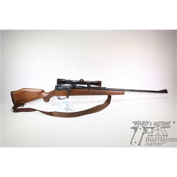 Non-Restricted rifle Mauser model 66, 7mm Rem Mag bolt action, w/ bbl length 25 1/2  [Blued barrel a