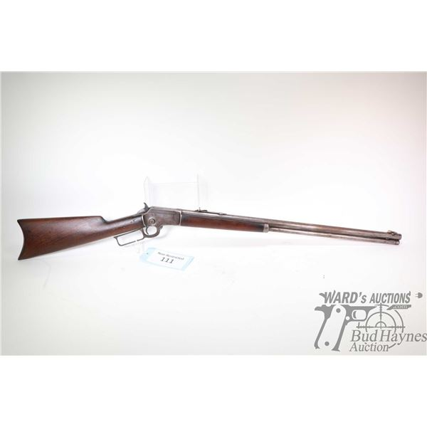 Non-Restricted rifle Marlin 92 Non-Restricted rifle Marlin model 92 .32 lever action w/ bbl length 2