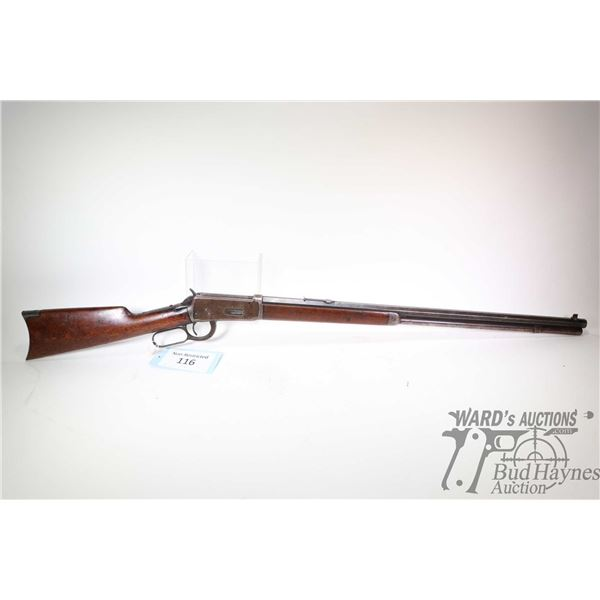 """Non-Restricted rifle Winchester model 1894, 30 W.C.F lever action, w/ bbl length 26"""" [Blued octagona"""