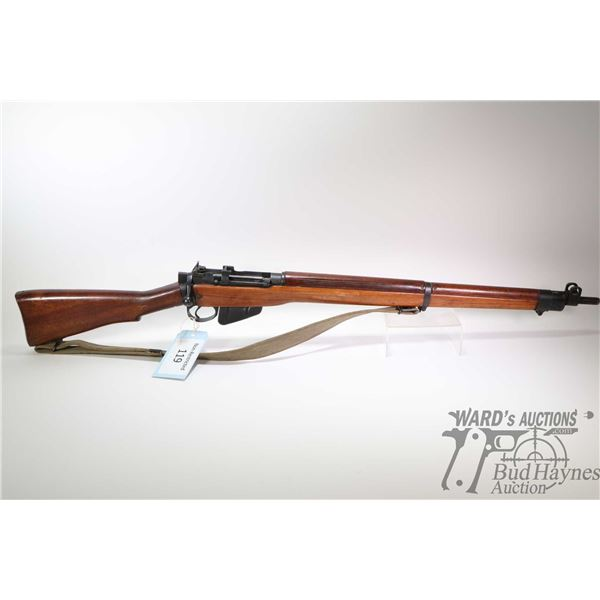Non-Restricted rifle Lee Enfield model No4 MK 1 ROF(F.) 2/44, .303 Brit ten shot bolt action, w/ bbl