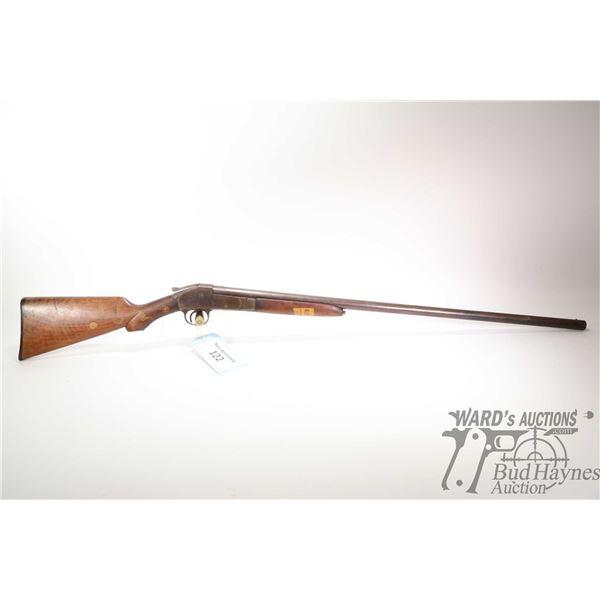 "Non-Restricted shotgun Remington model 1893, 12Ga single shot hinge break, w/ bbl length 32"" [Blued"