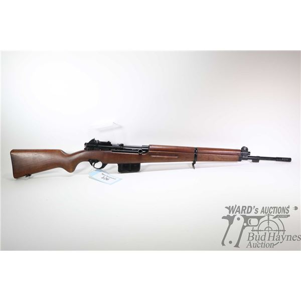 """Non-Restricted rifle FN model 49, 7x57 Mauser five shot semi automatic, w/ bbl length 23"""" [Blued sty"""