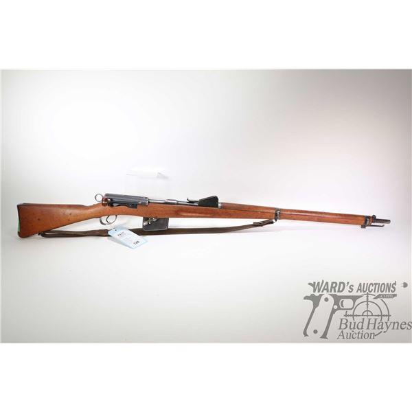 Non-Restricted rifle Schmidt Rubin model 1889, 7.5 X 53.5 ten shot bolt action, w/ bbl length 30 1/2