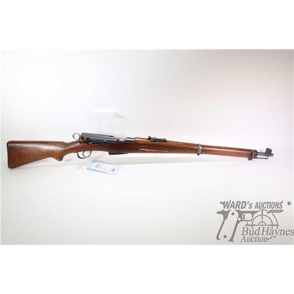 Non-Restricted rifle Schmidt Rubin model 1889/1900 Short Rifle, 7.5 X 53.5, 7.5 X 54.5(?) six shot b