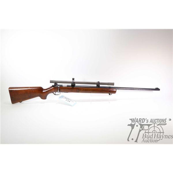 "Non-Restricted rifle Winchester model 75, 22 LR five shot bolt action, w/ bbl length 28"" [Blued barr"