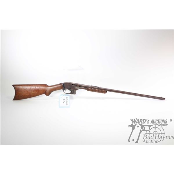 """Non-Restricted rifle Savage model 1903, 22 S-L-LR ten shot pump action, w/ bbl length 24"""" [Blued oct"""