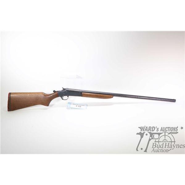 """Non-Restricted shotgun H&R model 48 Topper, .16 ga Single Shot hinge break, w/ bbl length 28 1/2"""" [B"""
