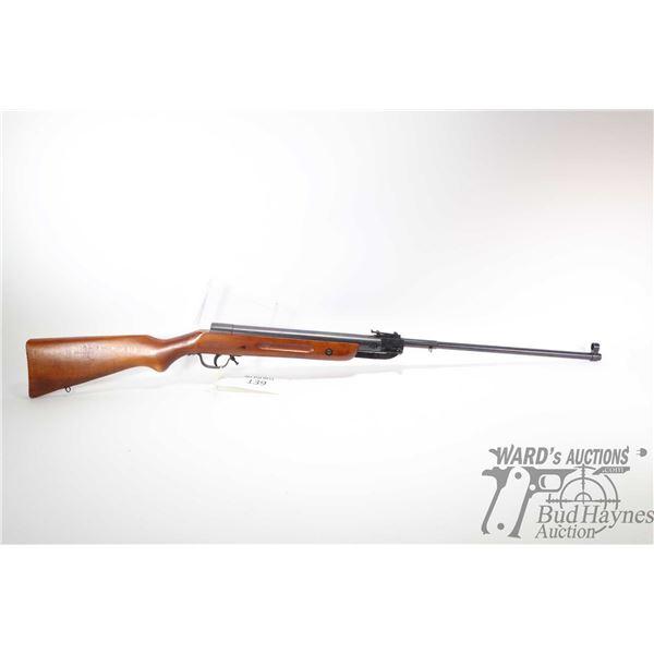 "No Pal REQ air rifle Lucznik model 87, .177 Single Shot hinge break, w/ bbl length 19"" [Blued barrel"